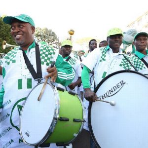 FIFA Accused Of refusing Super Eagles' Fans From Entering The Stadium With Drums