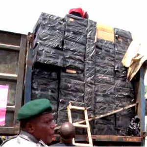 Trailer Load Of Tramadol And Other Drugs Seized By Customs Officials