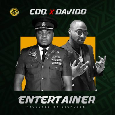Download CDQ Entertainer ft Davido Mp3